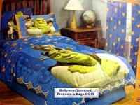 Amazon.com : Shrek 4 Piece Twin Size Bedding Set with