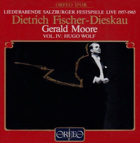 メーリケ歌曲集  (Wolf, Hugo: Salzburg Festival Live Vol. IV)
