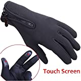 CAMTOA Winter Outdoor Sports Gloves Touchscreen Gloves Tactical Mittens,Men Women Keep Warm Bicycle Cycling Hiking Gloves Full Finger,military Motorcycle Skiing Gloves M