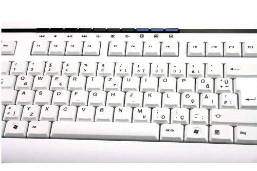 Computer Peripherie: Tastatur Türkisch Deutsch Fujitsu