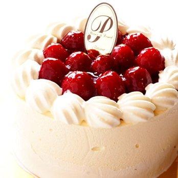 糖質制限の木苺レアチーズケーキ直径12cm