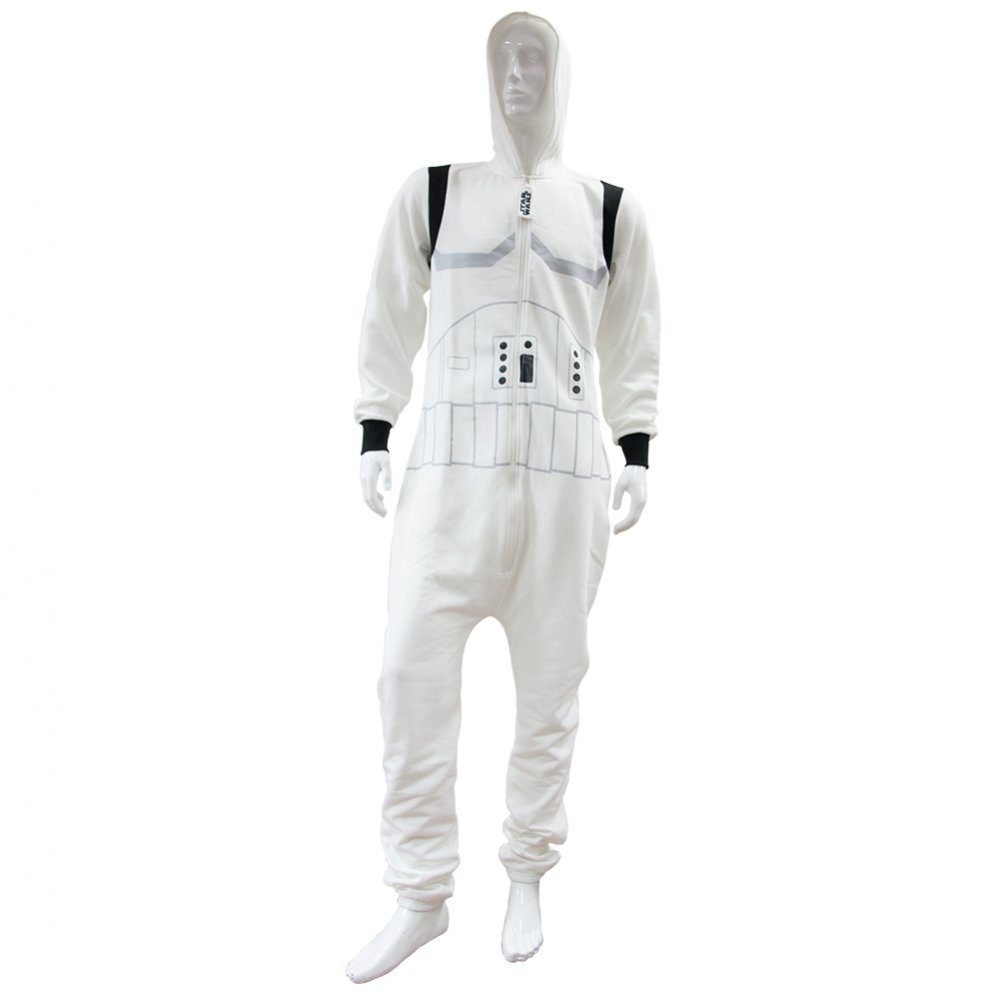 Groovy UK Ltd Men's Star Wars Stormtrooper Onesie