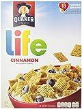 Quaker Cinnamon Life Cereal, 13 oz