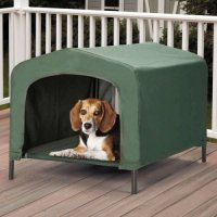 Durable Waterproof Pet Bed Hound House Portable Small Dog ...