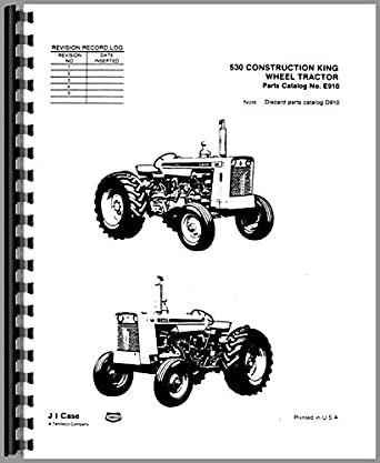 Case 530 Industrial Tractor Parts Manual: Amazon.com