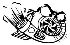 Amazon.com: Angry Turbo Boost Jdm Import Die-cut Vinyl