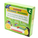 Scholastic Guided Science Readers Level C (16 Books, Activity Book & CD) スカラスティック サイエンス リーダーズC・CD付き