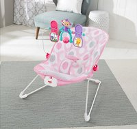 Fisher-Price Baby's Bouncer - Pink Ellipse Toddler Toys ...