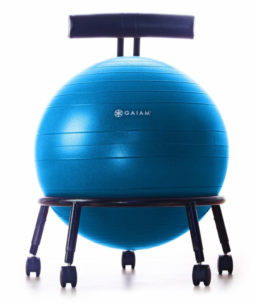Amazoncom  Gaiam Custom Fit Adjustable Balance Ball