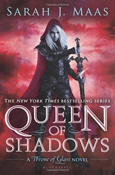 Queen of Shadows: Throne of Glass 4 by Sarah J. Maas| wearewordnerds.com