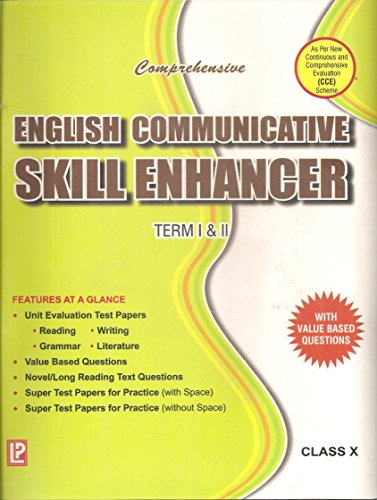 Comprehensive English Communicative Test Papers (File-System) In Two Volumes Term I & II Vol-I X (class X)