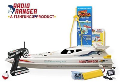 Radio-Ranger-ll-34-Remote-Control-Fishing-Boat-UPGRADED-24Ghz-Remote-System