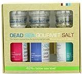 Salt 424 Three Grinder Pack 100% Organic Salts, Diamond, Black Pepper and Garlic with Pepper, 25.11 Ounce