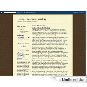 I just found this review of my Living Breathing Writing blog for Kindle