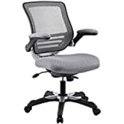 Lexmod Focus Edge Desk Chair White Kids Upc 661799241328 Office With Gray Mesh Back And Product Image For Fabric