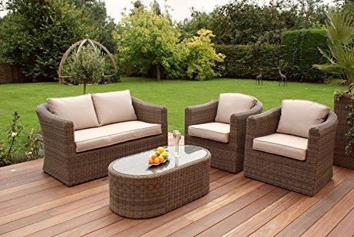 maze rattan natural milan corner sofa set green cushions calico best price winchester 2 seater garden furniture