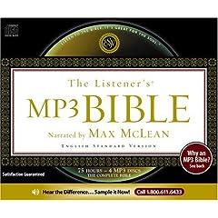 The Listener's Bible - ESV (4 MP3 CDs)