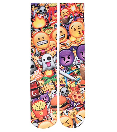 Odd Sox Emoji 3D Sock Multi-Color Osfa