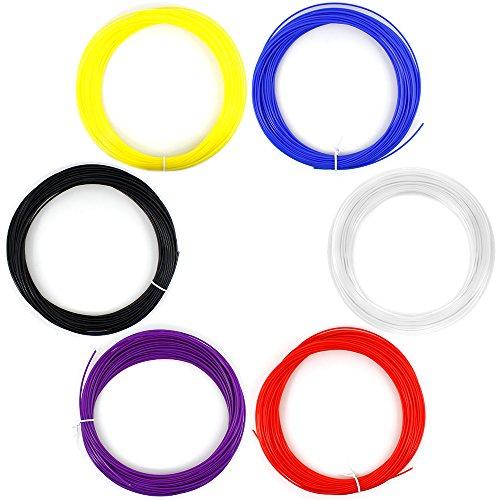AFUNTA-6PCS-175mm-20M-50G-PCS-ABS-3D-Print-filament-pour-imprimante-3D-Pen