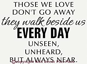 Download Amazon.com: Those We Love Don't Go Away They Walk Beside ...