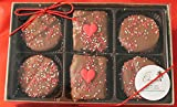 Chocolate Rice Krispie and Oreo Cookie Valentine Gift Box