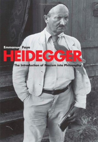 Heidegger: The Introduction of Nazism into Philosophy in Light of the Unpublished Seminars of 1933-1935