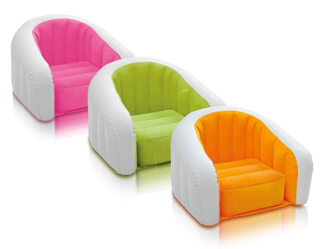 intex air chair amazon ball inflatable pvc junior cafe club multi