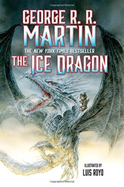 The Ice Dragon by George R. R. Martin | Featured Book of the Day | wearewordnerds.com