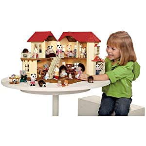 Calico Critters Luxury Townhome Gift Set 2 Chipmunk