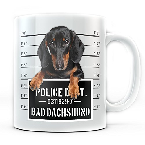 Funny Dachshund Coffee Mug Bad Wiener