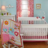 Love Bird Crib Sets & Bedding