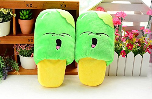 Paws 'n' Claws Women/Kids Cute Fuzzy Ice Cream Plush Slippers