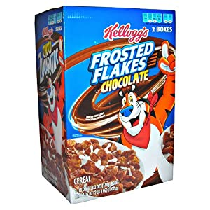 NEW Kellogg39s Frosted Flakes CHOCOLATEPack of 2 boxes