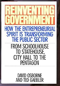 "Cover of ""Reinventing Government: How The..."