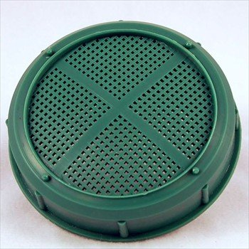 Sprouting Jar Strainer Lid - Fits Wide Mouth Jars - For Growing Sprouts & Other Uses