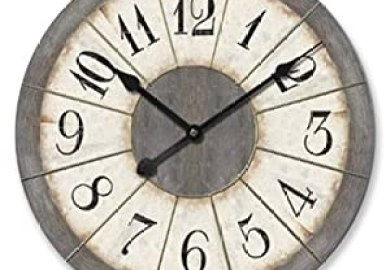 Amazon Decorative Wall Clocks Home Kitchen