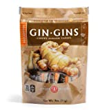 The Ginger People Hot Coffee Ginger Chews, 3-Ounce Bags (Pack of 24)