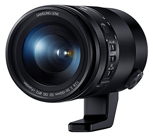 """Samsung NX 50-150mm f/2.8 """"S"""" Series Zoom Camera Lens with OIS (Black)"""