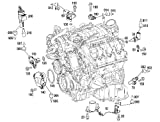 Mercedes A 2720510177 Camshaft Adjuster Magnet M272 M273