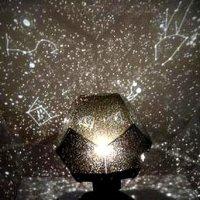 DIY Romantic Galaxy Starry Sky Projector Night Light (2xAA
