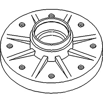 E1NN1104AA New Ford / New Holland Front Wheel Hub TW10
