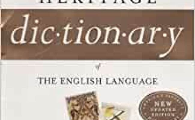 Amazon The American Heritage Dictionary Of The