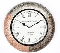 Buy Universal Art Traditional Wall clock with Brass ...