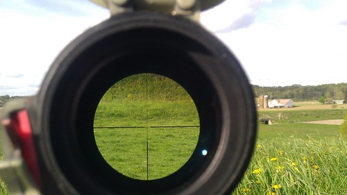 160 yds at 9x zoom