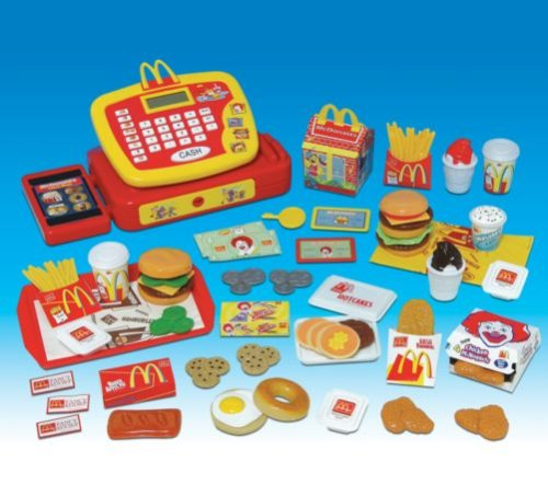 Wooden Toy Kitchen Mcdonalds Pretend Play Food Set For Toy