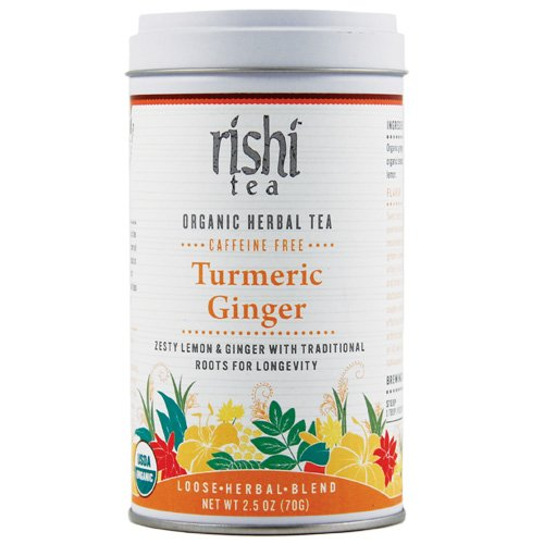 Rishi Tea Turmeric Ginger, 2.46-Ounce (Pack of 2)