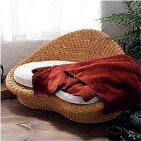 Amazon.com - Gaiam Rattan Meditation Chair - Oversized Chairs