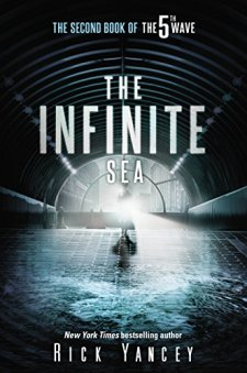 The Infinite Sea: The Second Book of the 5th Wave by Rick Yancey| wearewordnerds.com