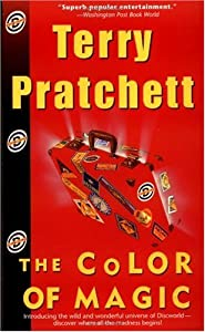 "Cover of ""The Color of Magic"""