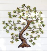 Outside Metal Wall Art - 1000+ ideas about outdoor metal ...